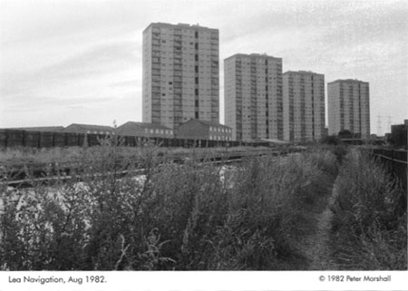 Clapton Park Estate, Lea Navigation © 1982 Peter Marshall