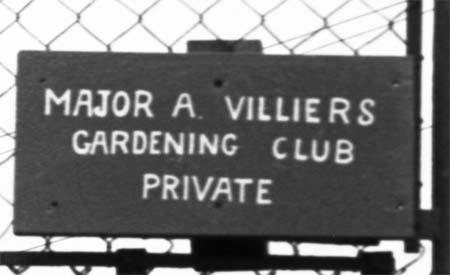 Gardening Club gates